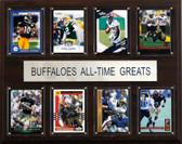 """NCAA Football 12""""x15"""" Colorado Buffaloes All-Time Greats Plaque"""