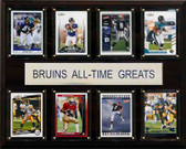 "NCAA Football 12""x15"" UCLA Bruins All-Time Greats Plaque"