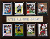 "NCAA Football 12""x15"" Utah Utes All-Time Greats Plaque"