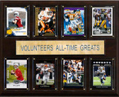 "NCAA Football 12""x15"" Tennessee Volunteers All-Time Greats Plaque"