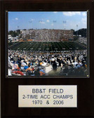 "NCAA Football 12""x15"" BB&T Field Stadium Plaque"
