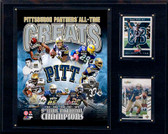 "NCAA 12""x15"" Pittsburgh Panthers All-Time Greats Photo Plaque"
