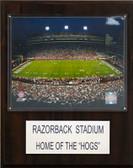 "NCAA Football 12""x15"" Razorback Stadium Stadium Plaque"