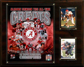 "NCAA Football 12""x15"" Alabama Crimson Tide All-Time Greats Photo Plaque"