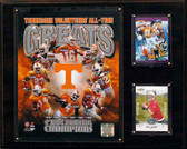"NCAAF 12""x15"" Tennessee Volunteers All-Time Greats Photo Plaque"