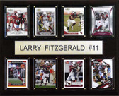 "NFL 12""x15"" Larry Fitzgerald Arizona Cardinals 8 Card Plaque"