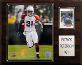 "NFL 12""x15"" Patrick Peterson Arizona Cardinals Player Plaque"