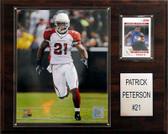 """NFL 12""""x15"""" Patrick Peterson Arizona Cardinals Player Plaque"""