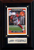 "NFL 4""x6"" Larry Fitzgerald Arizona Cardinals Player Plaque"