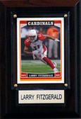"NFL 4""x6"" Larry Fitzgerald Arizona Cardinals Player Plaque"