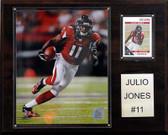 """NFL 12""""x15"""" Julio Jones Atlanta Falcons Player Plaque"""