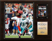 "NFL 12""x15"" Roddy White Atlanta Falcons Player Plaque"