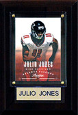 "NFL 4""x6"" Julio Jones Atlanta Falcons Player Plaque"