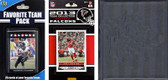 NFL Atlanta Falcons Licensed 2013 Score Team Set and Favorite Player Trading Card Pack Plus Storage Album