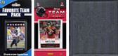 NFL Atlanta Falcons Licensed 2014 Score Team Set and Favorite Player Trading Card Pack Plus Storage Album