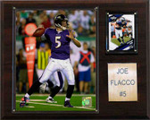 "NFL 12""x15"" Joe Flacco Baltimore Ravens Player Plaque"