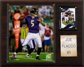 "NFL 12""x15"" Joe Flacco Baltimore Ravens Player Plaque"