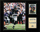 "NFL 12""x15"" Justin Tucker Baltimore Ravens Player Plaque"