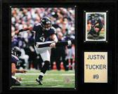 "NFL 12""x15"" Justin Tucker Baltimore Ravens Player Plaque"