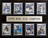 "NFL 12""x15"" Baltimore Ravens Super Bowl XLVII 8-Card Plaque"