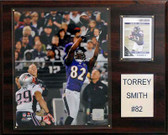 "NFL 12""x15"" Torrey Smith Baltimore Ravens Player Plaque"