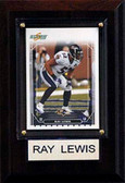 "NFL 4""x6"" Ray Lewis Baltimore Ravens Player Plaque"