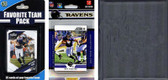NFL Baltimore Ravens Licensed 2012 Score Team Set and Favorite Player Trading Card Pack Plus Storage Album