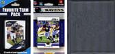 NFL Baltimore Ravens Licensed 2012 Score Team Set and Favorite Player Trading Card Pack Plus Storage Album