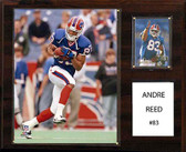 "NFL 12""x15"" Andre Reed Buffalo Bills Player Plaque"