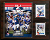 "NFL 12""x15"" Buffalo Bills 2012 Team Plaque"