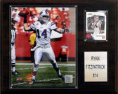 "NFL 12""x15"" Ryan Fitzptarick Buffalo Bills Player Plaque"