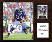 "NFL 12""x15"" Mario Williams Buffalo Bills Player Plaque"