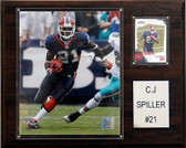 "NFL 12""x15"" C. J. Spiller Buffalo Bills Player Plaque"