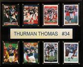 "NFL 12""x15"" Thurman Thomas Buffalo Bills 8-Card Plaque"