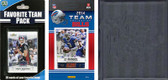 NFL Buffalo Bills Licensed 2014 Score Team Set and Favorite Player Trading Card Pack Plus Storage Album