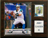 "NFL 12""x15"" Jimmy Clausen Carolina Panthers Player Plaque"