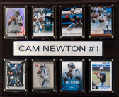 "NFL 12""x15"" Cam Newton Carolina Panthers 8-Card Plaque"