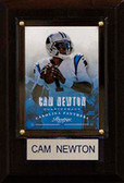 "NFL 4""x6"" Cam Newton Carolina Panthers Player Plaque"