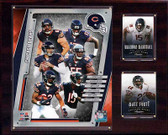 "NFL 12""x15"" Chicago Bears 2014 Team Plaque"