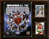 "NFL 12""x15"" Chicago Bears All -Time Great Photo Plaque"