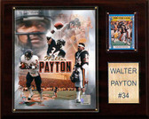 "NFL 12""x15"" Walter Payton Chicago Bears Player Plaque"
