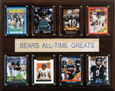 "NFL 12""x15"" Chicago Bears All-Time Greats Plaque"