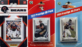 NFL Chicago Bears Licensed 2011 Score Team Set With Twelve Card 2011 Prestige All-Star and Quarterback Set