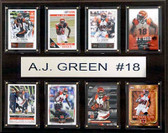 "NFL 12""x15"" A.J. Green Cincinnati Bengals 8-Card Plaque"