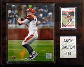 "NFL 12""x15"" Andy Dalton Cincinnati Bengals Player Plaque"