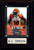 "NFL 4""x6"" A.J. Green Cincinnati Bengals Player Plaque"
