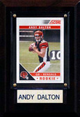 "NFL 4""x6"" Andy Dalton Cincinnati Bengals Player Plaque"