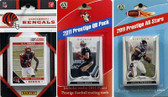 NFL Cincinnati Bengals Licensed 2011 Score Team Set With Twelve Card 2011 Prestige All-Star and Quarterback Set