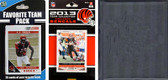NFL Cincinnati Bengals Licensed 2013 Score Team Set and Favorite Player Trading Card Pack Plus Storage Album