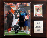 "NFL 12""x15"" A.J. Green Cincinnati Bengals Player Plaque"